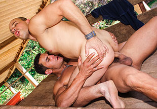 Hunky Latinos Meetup Fuck Session