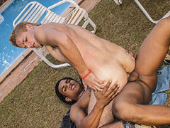 Outdoor Fuck With Latin Cock